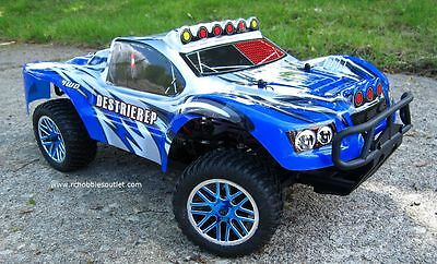 RC Short Course Truck Electric 1/10 Scale 2.4G  4WD RTR 17096