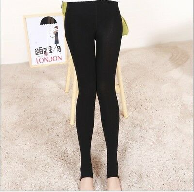 Women's Winter Thick Warm Footless Slim Stretch Leggings Skinny Pants Cotton