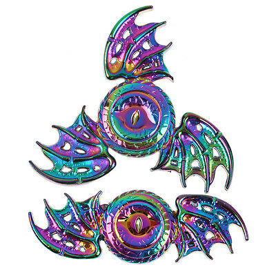 New Rainbow Dragon Wings EDC Hand Spinner Fidget Focus Cool Toy ADHD Autism Hot