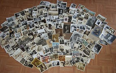 Large Lot 175 Antique and Vintage Photographs ~ Americana - One Money Buys All