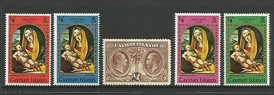 CAYMAN ISLANDS - 1932 Centenary Assembly of Justices KGV, 1969 Christmas, mint