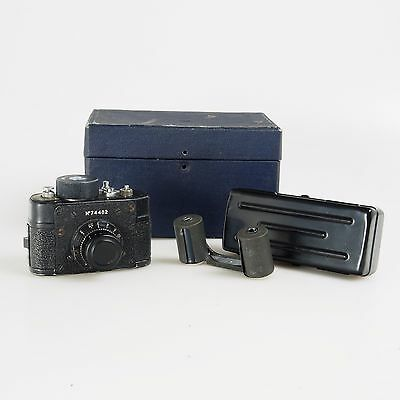 # USSR KGB Spy Film 21mm RARE Mini Camera F-21 AJAX 109
