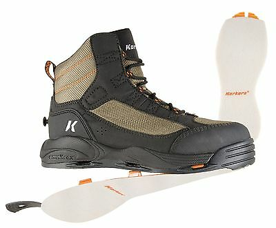Size 7 Korkers Greenback Wading Fishing Boot - Felt Sole Only - Mens