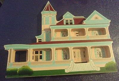 Sheila's Collectible Shelf Sitters Wood ~ Southernmost House Key West 1995 #KY02