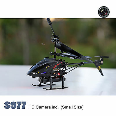 S977 RC Helicopter SMALL SIZE 3.5CH RTF for Beginner with Gyro & Camera