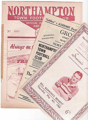 Northampton Res V Coventry Res 1953/54