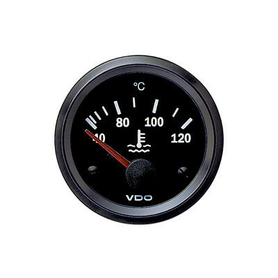VDO Cockpit Vision Electric Coolant Temperature Water Temp Gauge 52mm 12V