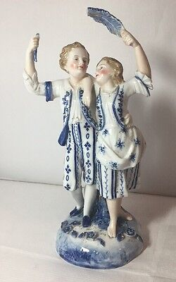 Beautiful Antique Ernst Bohne & Sohne EBS Rudolstadt Children Figurine AF