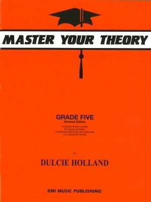 Master Your theory Grade 5 / Five Dulcie Holland ****New Revised E21090 NEW