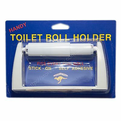 HANDY PRODUCT Self Adhesive Toilet Roll Holder T5