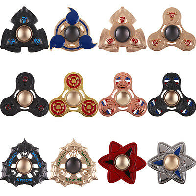 Naruto Hand Spinner Tri Fidget  Desk Toy EDC Anti-Stress Relief for Kids Adult