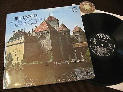 LP Bill Evans At the Montreux Jazz Festival France | M-