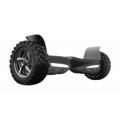 "Patin electrico 2 ruedas  8.5""OFF ROAD autobalance con  altavoces bluetooth  neg"