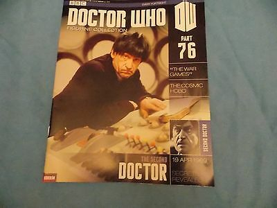 Dr Who Figurine Collection 76 The Second Doctor (Magazine only)