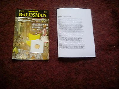 Dalesman July 1966 + A Special Year Card + Sixpence In A Capsule