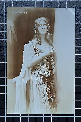 Nina Sevening Edwardian Actress RP Postcard 'A' Series, Arostopher Co. No. E744