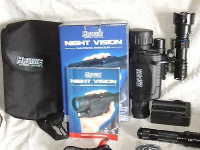 Hawke Night Vision 5 x 40  Monocular Boxed with extras+++++++