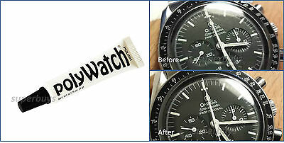 PolyWatch Scratch Remover Polish Watch Face Plastic Acrylic Glass Crystal Repair