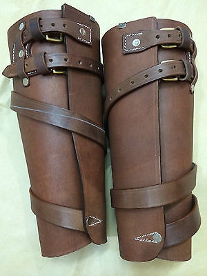 light horse WWI Leather Leggings- (Reproduction