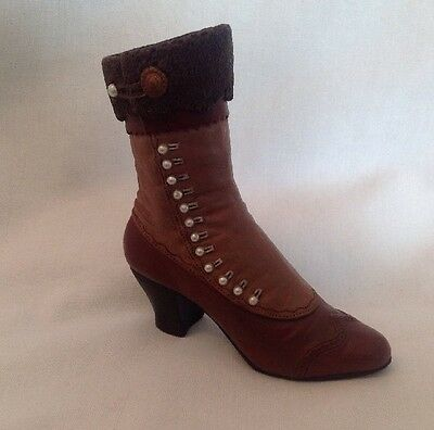** Mint ~ Just The Right Shoe High Buttoned Boot ~ 25034 **