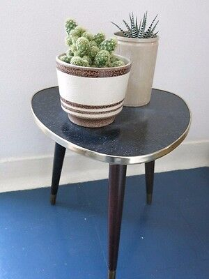 Vintage East German Plant Stand Mid Century Modernist Plant Table