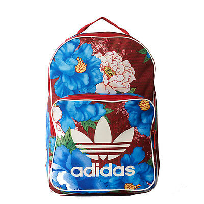 adidas Classic Unisex Bags Red Floral