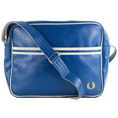 Fred Perry Classic Unisex Bags Blue