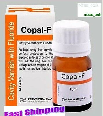 Dental Varnish Fluoride Varnish Copal F Cavity Prevest 15ml  FREE SHIPPING