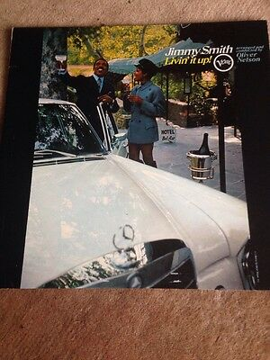 Jimmy Smith. Livin' It Up.Mono.  1st Pressing Verve Records. Excellent Vinyl
