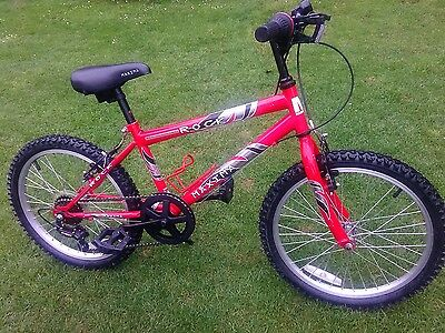 """Boys /girls  Mountain Bike 20"""" with 6 gears ,stand, bottle holder. (2)"""