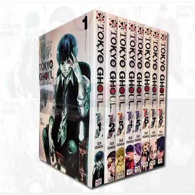 Tokyo Ghoul Volume 1-8 Collection Sui Ishida 8 Books Set Children Manga Pack NEW