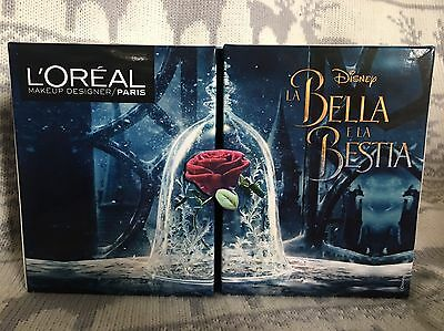 L'Oreal Disney Beauty and The Beast Make up Lipstick Collection Full Box Set!