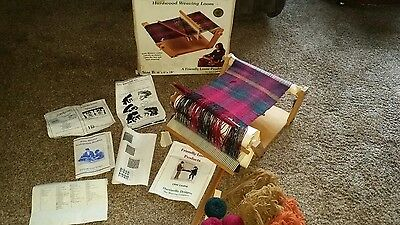 "A Friendly Loom pro SIZE B 18"" x 6"" x 18"" EASY WEAVER-HARDWOOD LOOM COMPLETE"