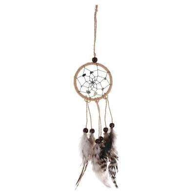 Traditional Dream Catcher with Feathers Bedroom Wall or Car Hanging Ornament