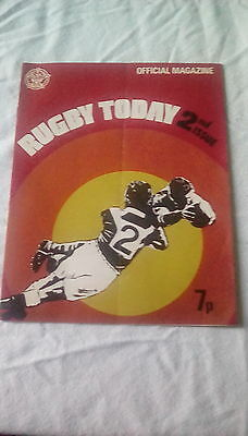 Rugby Today 2Nd Issue 1972? Feature On Batley Rlfc Plus Full Colour Team Photo