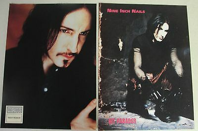NINE INCH NAILS 25 pc. Magazine Clippings Lot pinups TRENT REZNOR NIN oop poster