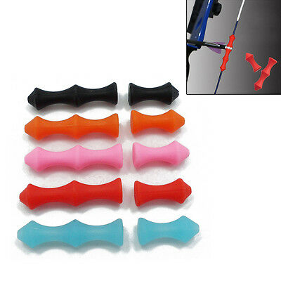 1pc Archery Bowstring Silicone Finger Saver Tab Finger Guard for Recurve Bow