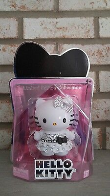 2014 Hello Kitty Crystal Gemstone Limited Edition Black & White Figure Doll