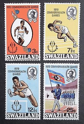 Swaziland (1970) Commonwealth Games / Athletics / Flags - Mint (MNH)
