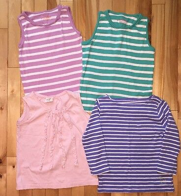 4 Mini Boden Tops Size 7-8y