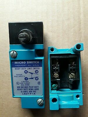 Honeywell Lsz7P1A Heavy Duty Limit Switch.complete.new. No Original Box.tested.