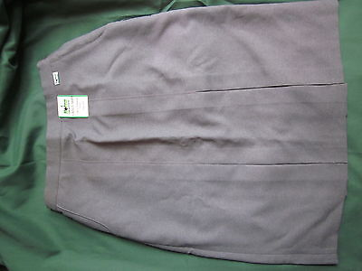 """Botra Bowlswear Ladies Skirt Style 0357 Light Grey - Size 18 - 27"""" In Length"""