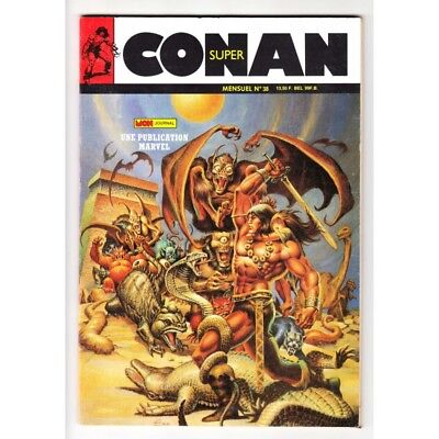 Conan Super (Mon Journal) N° 38 - Comics Marvel