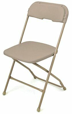 McCourt Series 5 Dining Height Stackable Folding Chair Neutral Frame Single Neut