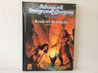 ADVANCED DUNGEONS & DRAGONS BOOK OF ARTIFACTS 2nd EDITION