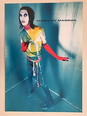 Marilyn Manson,1999,winterland Production,authentic 1999  Poster