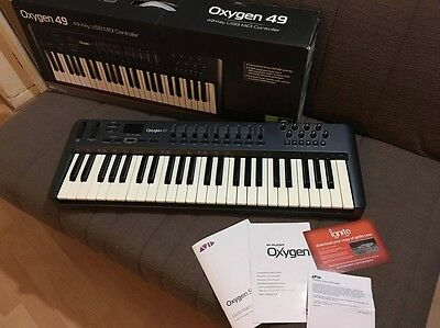 M-Audio Oxygen 49 Keys MIDI Controller Plug and Play