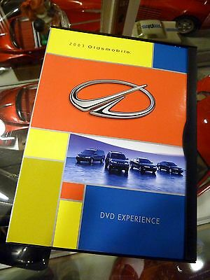 2003 Oldsmobile DVD Press Kit - great historical pictures and video footage!