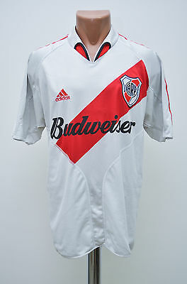 River Plate Argentina 2004/2005 Home Football Shirt Jersey Maglia Adidas