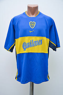 Boca Juniors Argentina 2000/2001 Home Football Shirt Jersey Maglia Nike